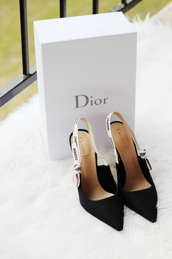 d487a62578c Dream Shoes: Dior J'Adior Slingback Pumps Review